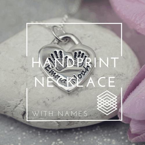 Hand Print Jewellery