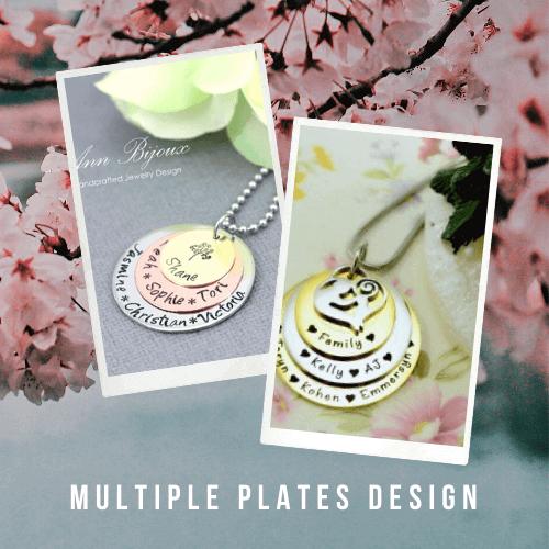Multi-plate Necklace