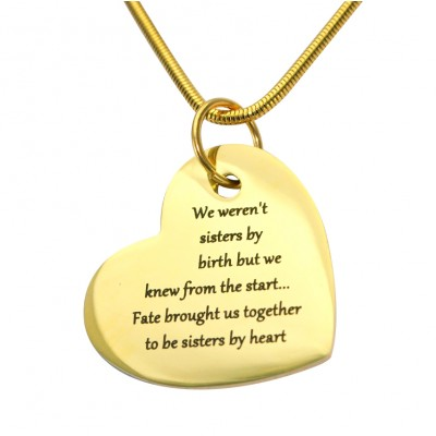 Personalised Bottom of My Heart - Name My Jewellery