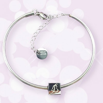 Personalised  Charm Bangle - Name My Jewellery