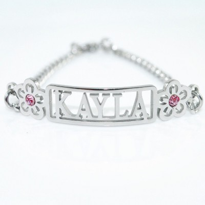 Name Necklace/Bracelet/Anklet - DIY Name Jewellery With Any Elements - Name My Jewellery