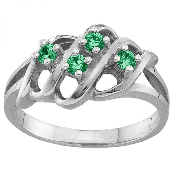 2-7 Accents Ring - Name My Jewellery