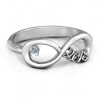 2018 Infinity Ring - Name My Jewellery