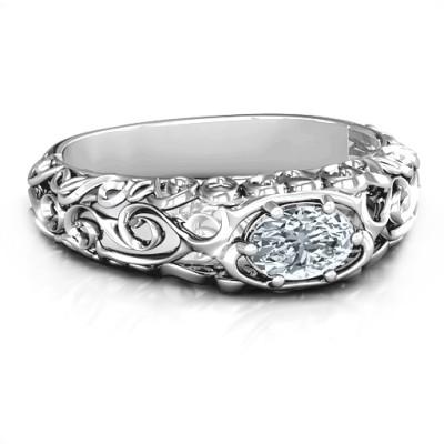2020 Vintage Graduation Ring - Name My Jewellery