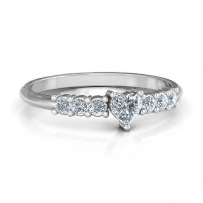 Beaming with Love Ring - Name My Jewellery