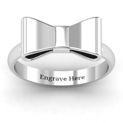 Bow Tie Ring - Name My Jewellery