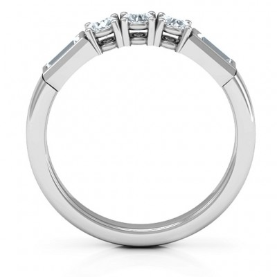 Charmed by Love Ring - Name My Jewellery