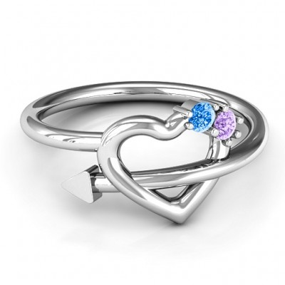 Cupid's Hold Love Ring - Name My Jewellery