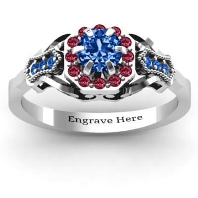 Fancy Vintage Ring - Name My Jewellery