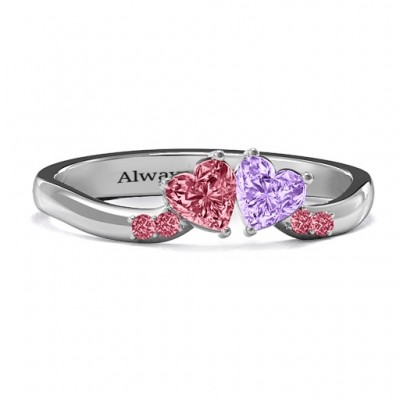 Follow Your Heart RIng - Name My Jewellery