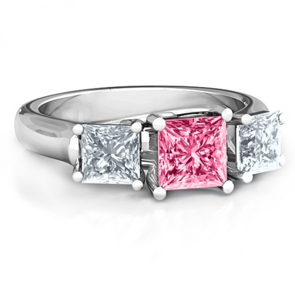 Grand Princess Ring - Name My Jewellery