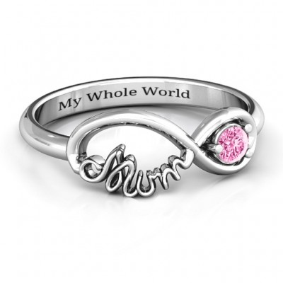 Infinite Bond Mum Ring - Name My Jewellery