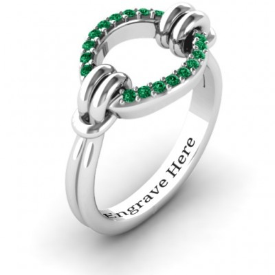 Karma Ring with 20 Stones  - Name My Jewellery