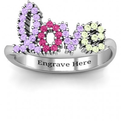 Love Spell Ring - Name My Jewellery