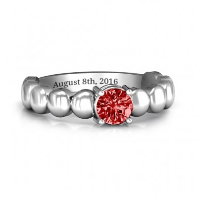 Love Story Promise Ring - Name My Jewellery