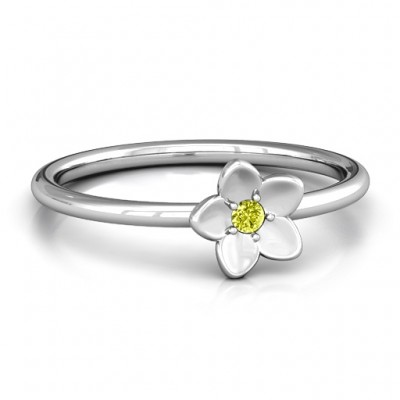 Stackr 'Azelie' Flower Ring - Name My Jewellery