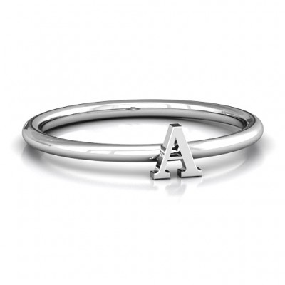 Stackr A-Z Ring - Name My Jewellery