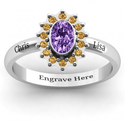 Starburst Ring - Name My Jewellery