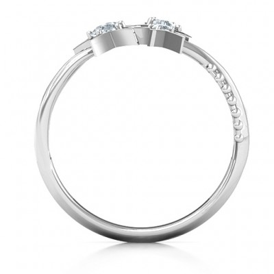 Twinkling Starlight Ring - Name My Jewellery