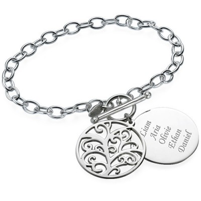 Filigree Tree of Life Bracelet/Anklet - Name My Jewellery