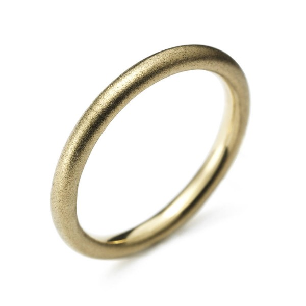 Yellow Gold Halo Ring - Name My Jewellery