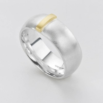 Linear Ring - Name My Jewellery