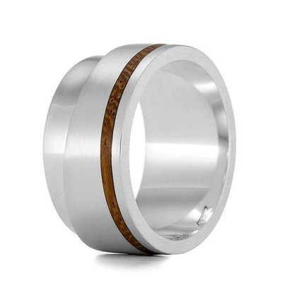 Wood Ring Layer - Name My Jewellery