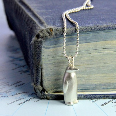 Penguin Necklace - Name My Jewellery