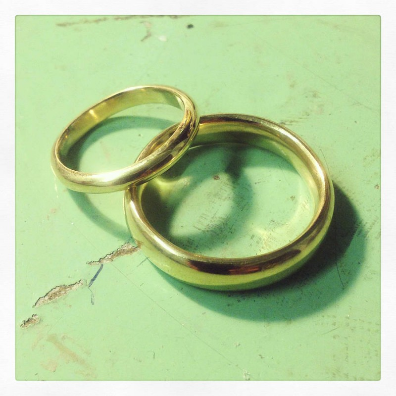 Make Your Own Wedding Rings Experience Name My Jewellery