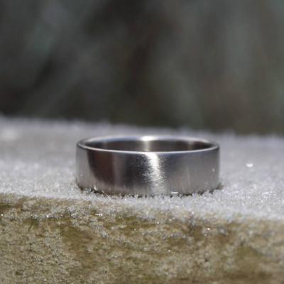 18ct Gold Wedding Band - Name My Jewellery