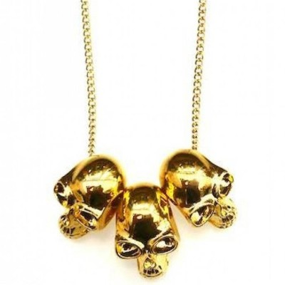 Skull Necklace - Name My Jewellery
